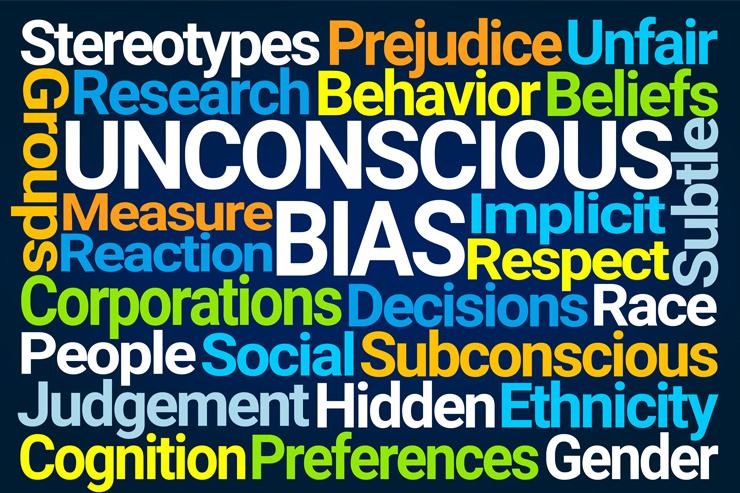 Unconscious Bias Wordmap